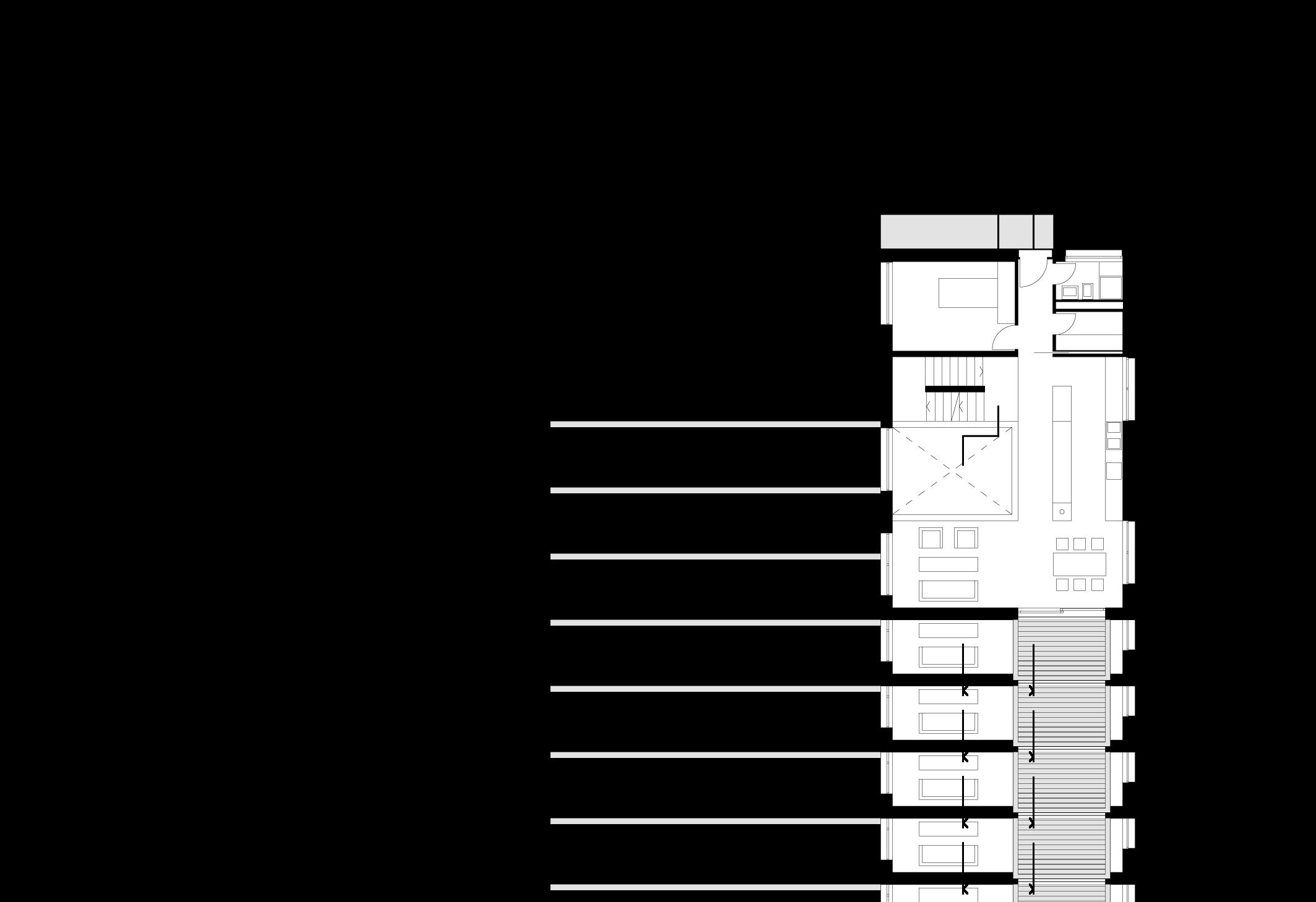 Plan du rez supérieur