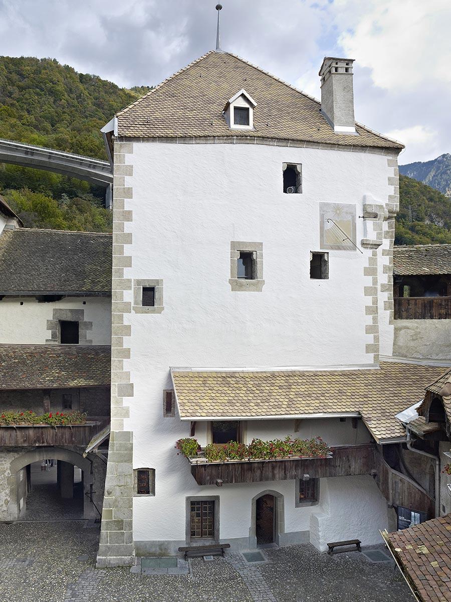 Chillon : Avant 1