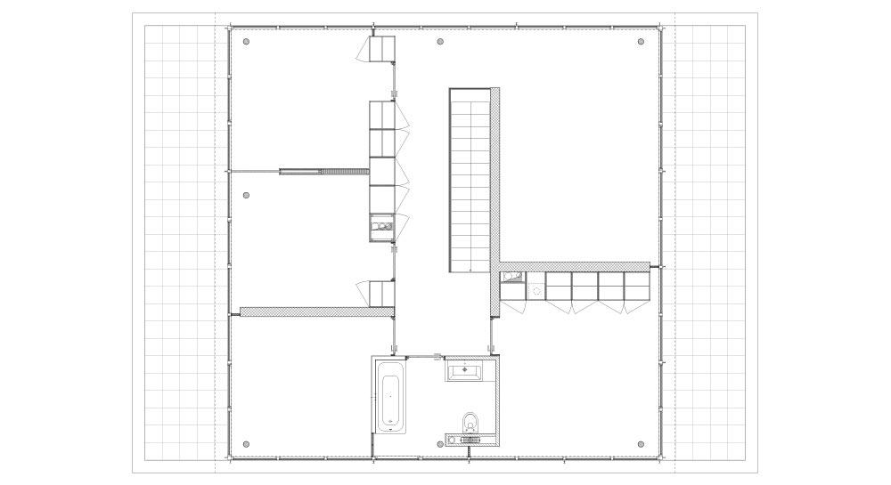 Maison Eco - Découpe Etage 1