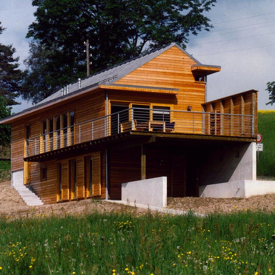 Maison du Grand-Bois - Avant