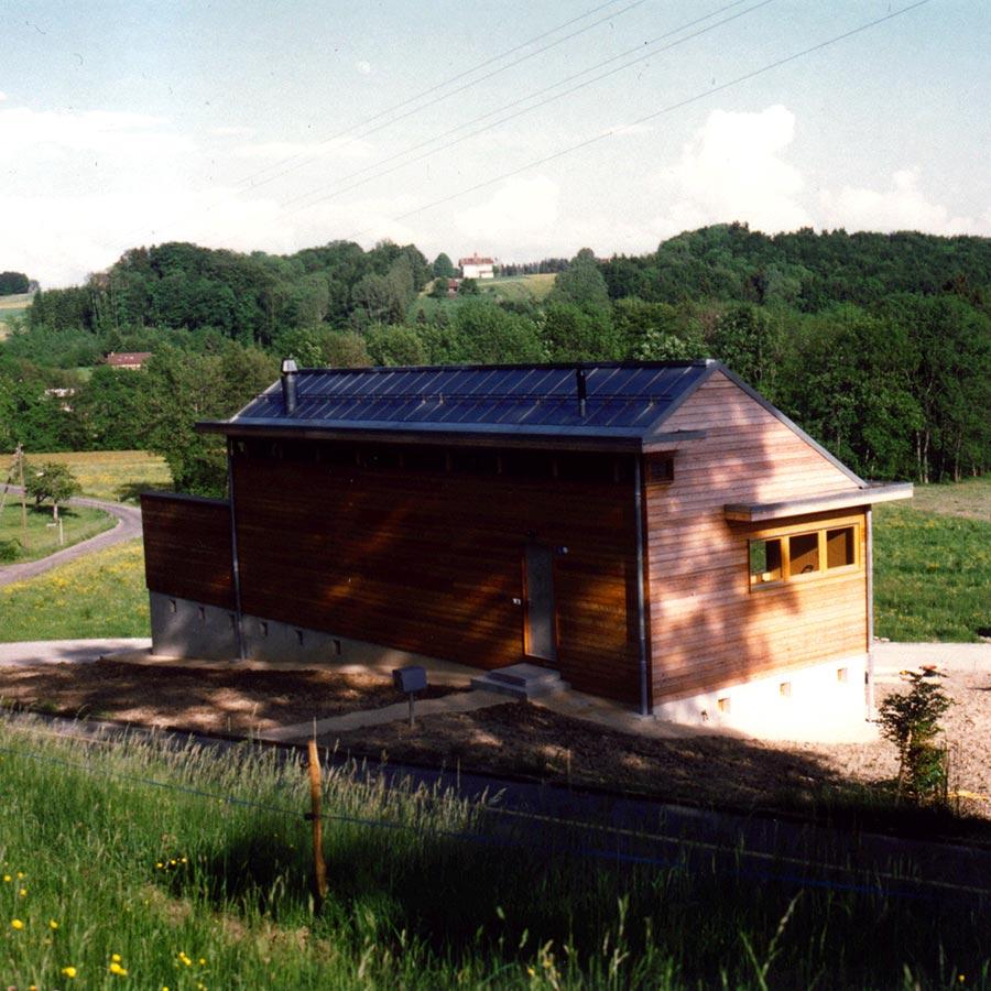 Maison du Grand-Bois - Arrière