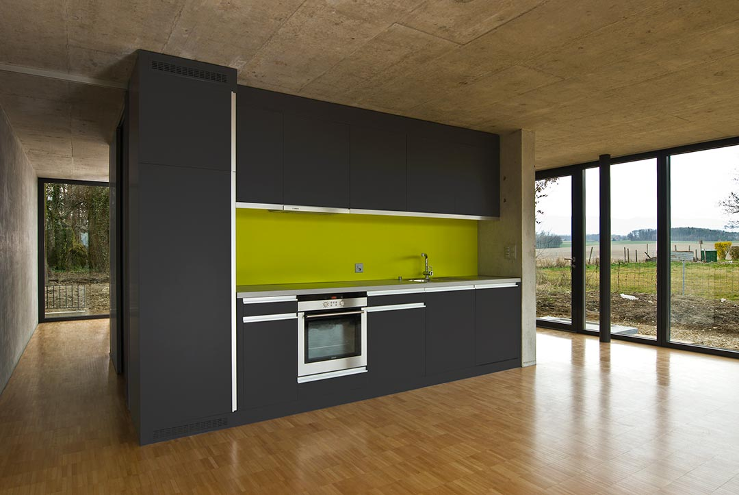 Maison Eco - Vue intérieure