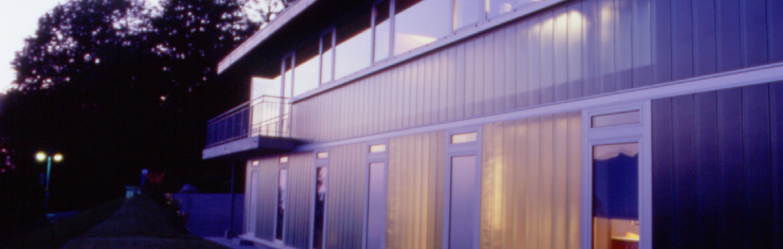Maison expérimentale - Vue extérieure