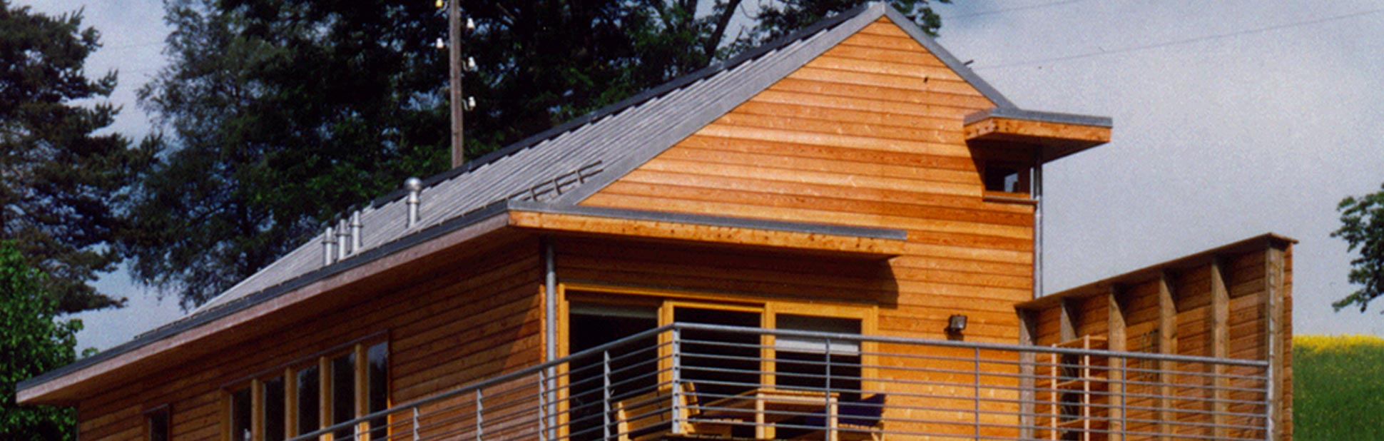 Maison du Grand-Bois : Vue Extérieure