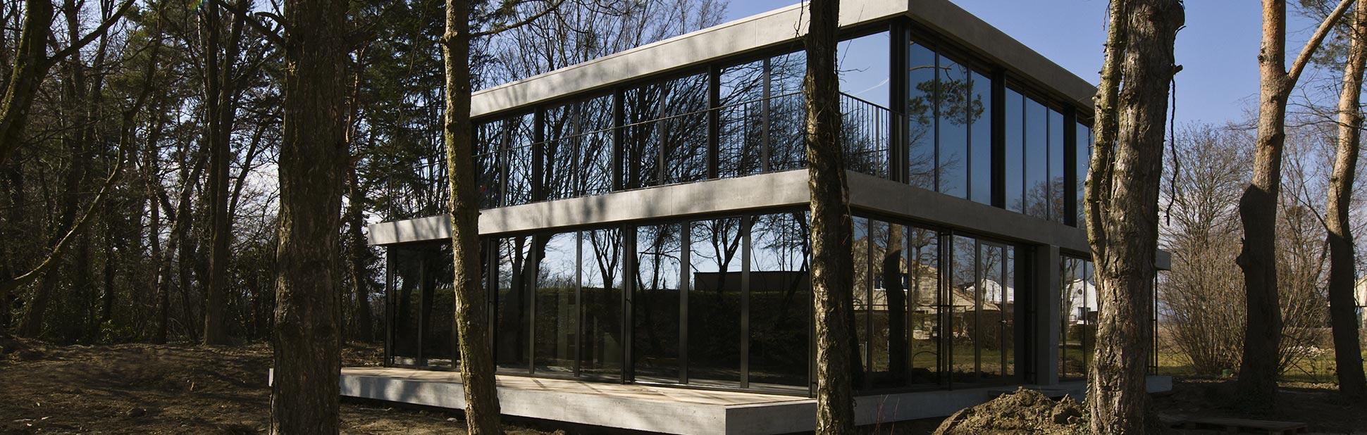 Maison Eco : Vue Extérieure